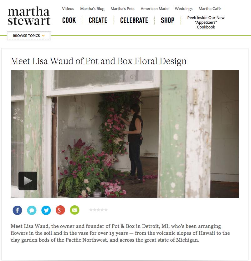 Martha Stewart Website - Oct 7
