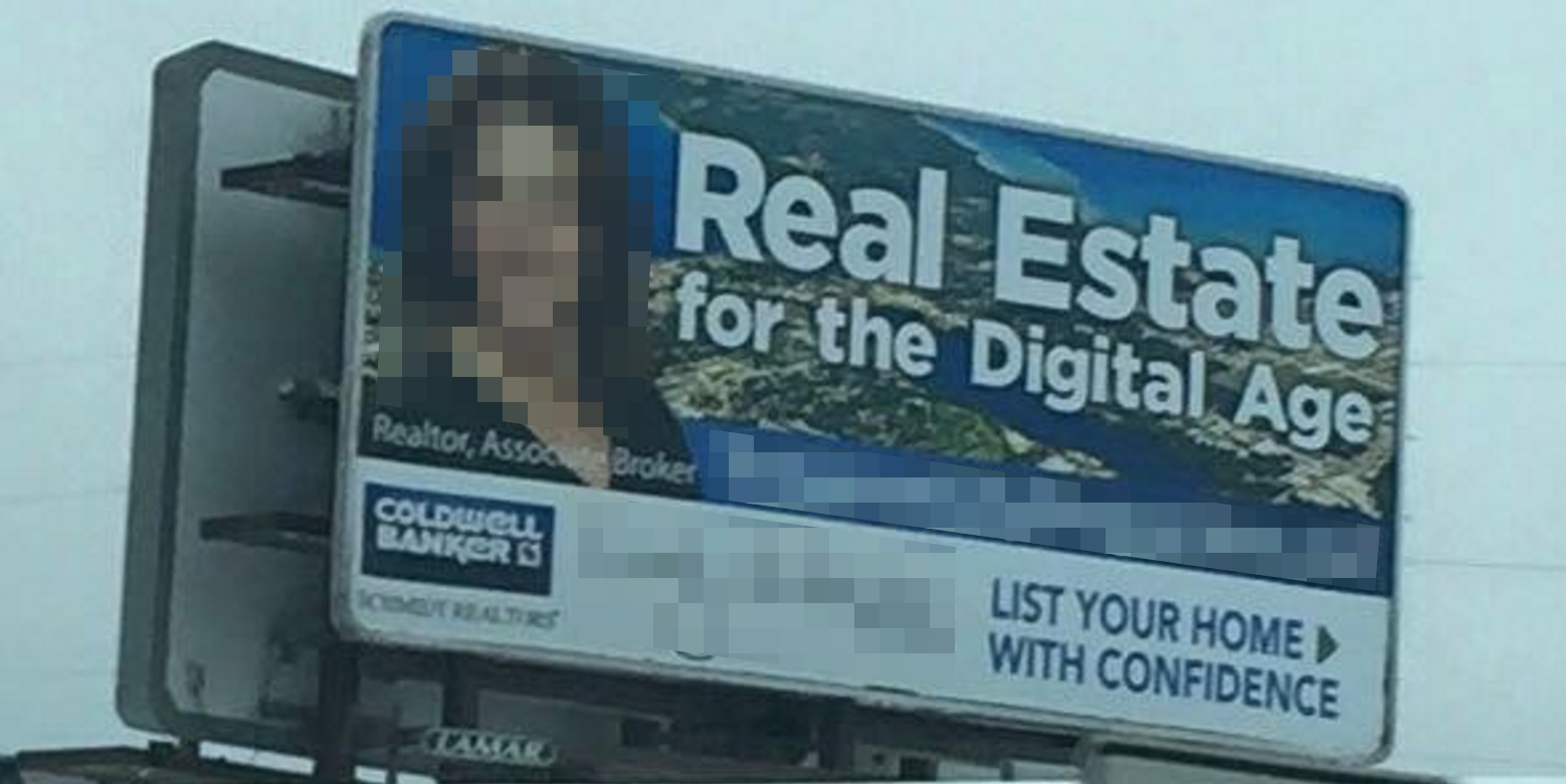 Billboard with Poor Context