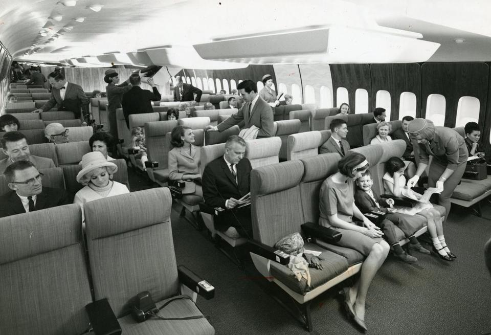 Flying in the 60s & 70s